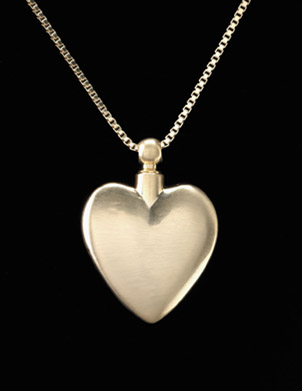 Keepsake Pendant - Pewter Heart 7